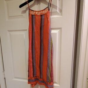 Lulu's multicolored light dress/swim coverup